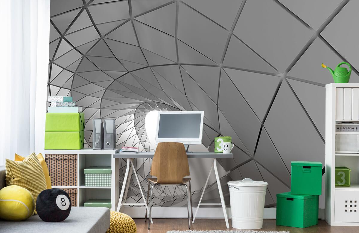 3D Gebogen tunnel 10