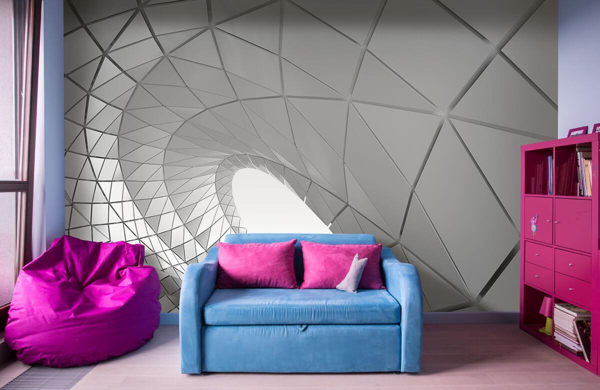 3D Gebogen tunnel 2