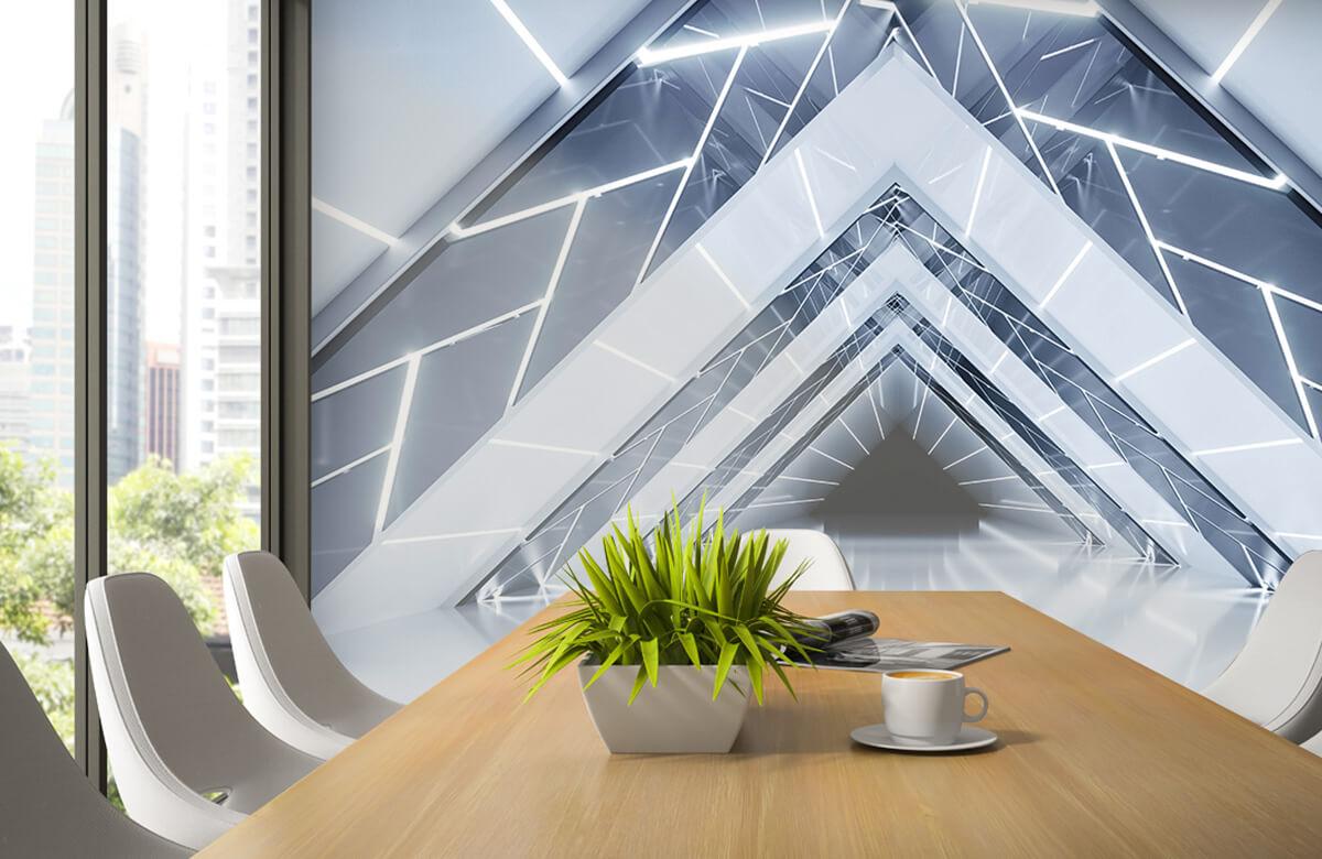 3D Driehoek tunnel 2