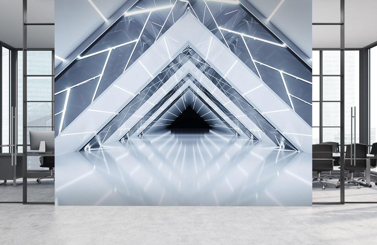 3D Driehoek tunnel 3