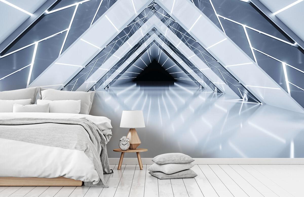3D Driehoek tunnel 7