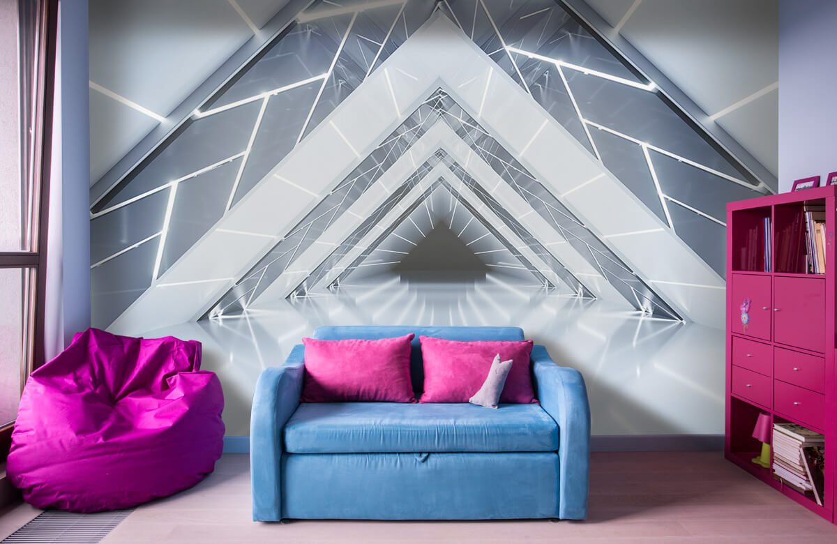 3D Driehoek tunnel 10