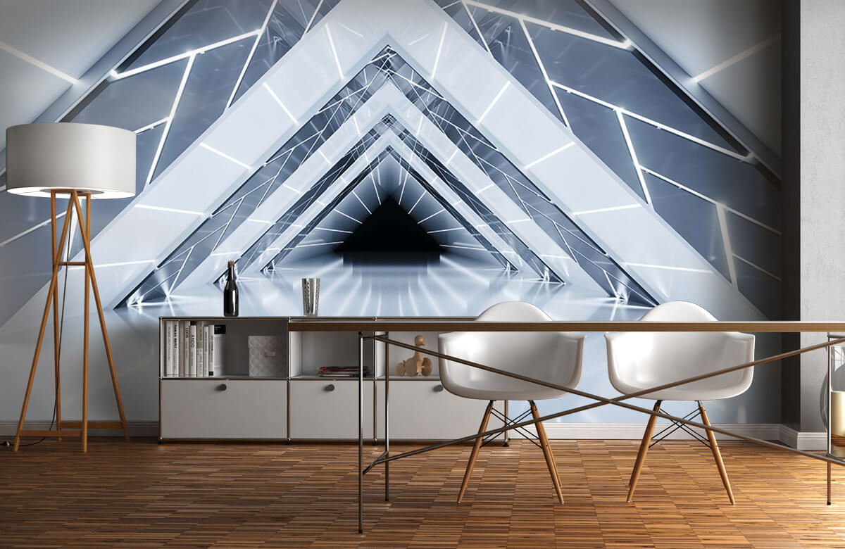3D Driehoek tunnel 11