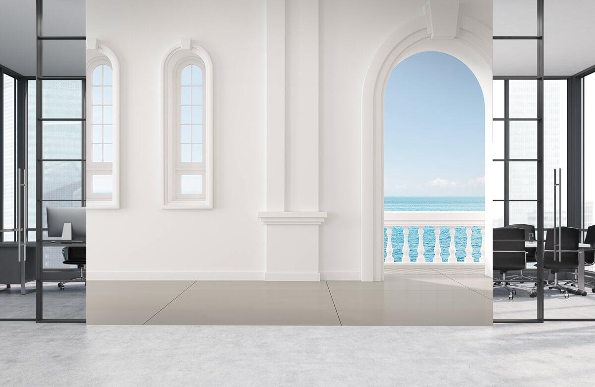 3D Witte muur 4