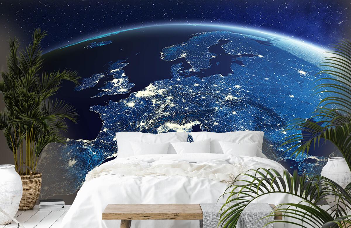 3D 3D Wereld in de nacht 7