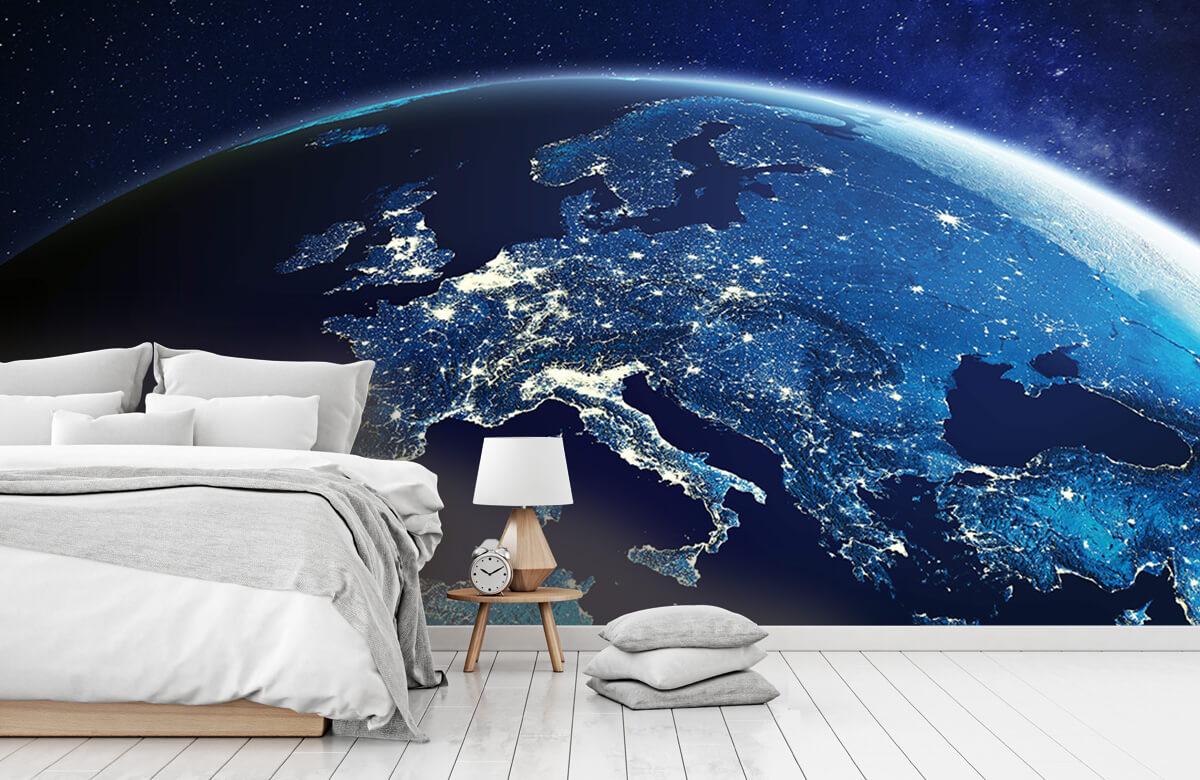 3D 3D Wereld in de nacht 8