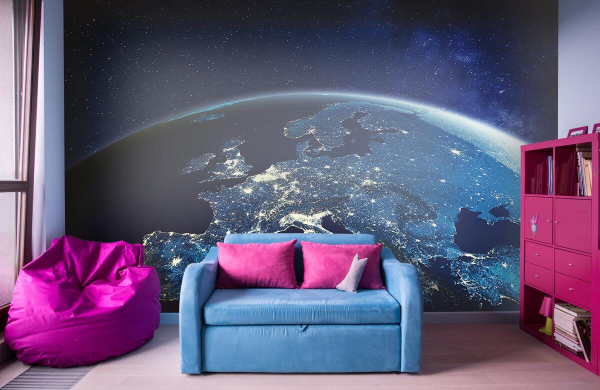 3D 3D Wereld in de nacht 10