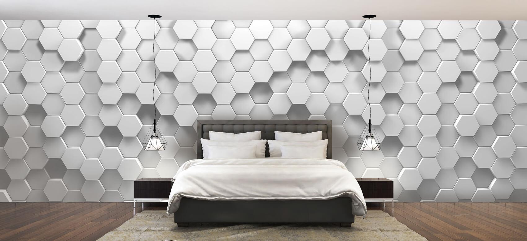 3D 3D Hexagons 2