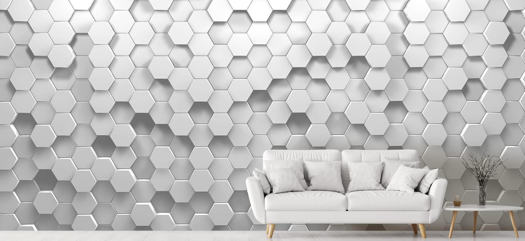 3D 3D Hexagons 4