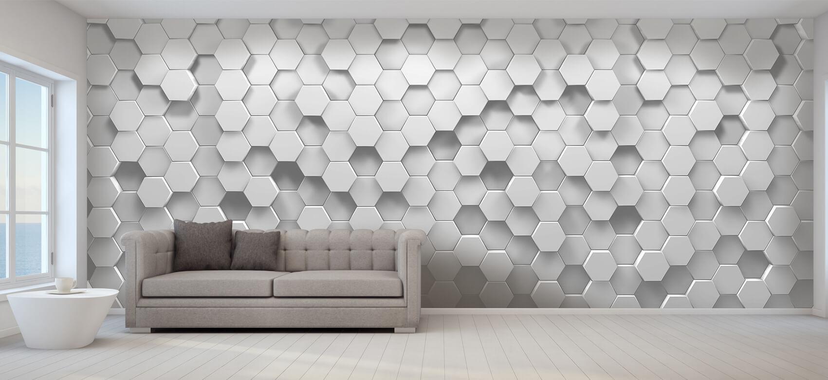 3D 3D Hexagons 6