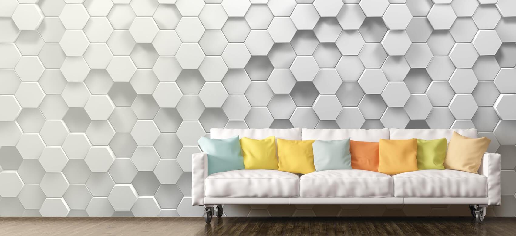 3D 3D Hexagons 7