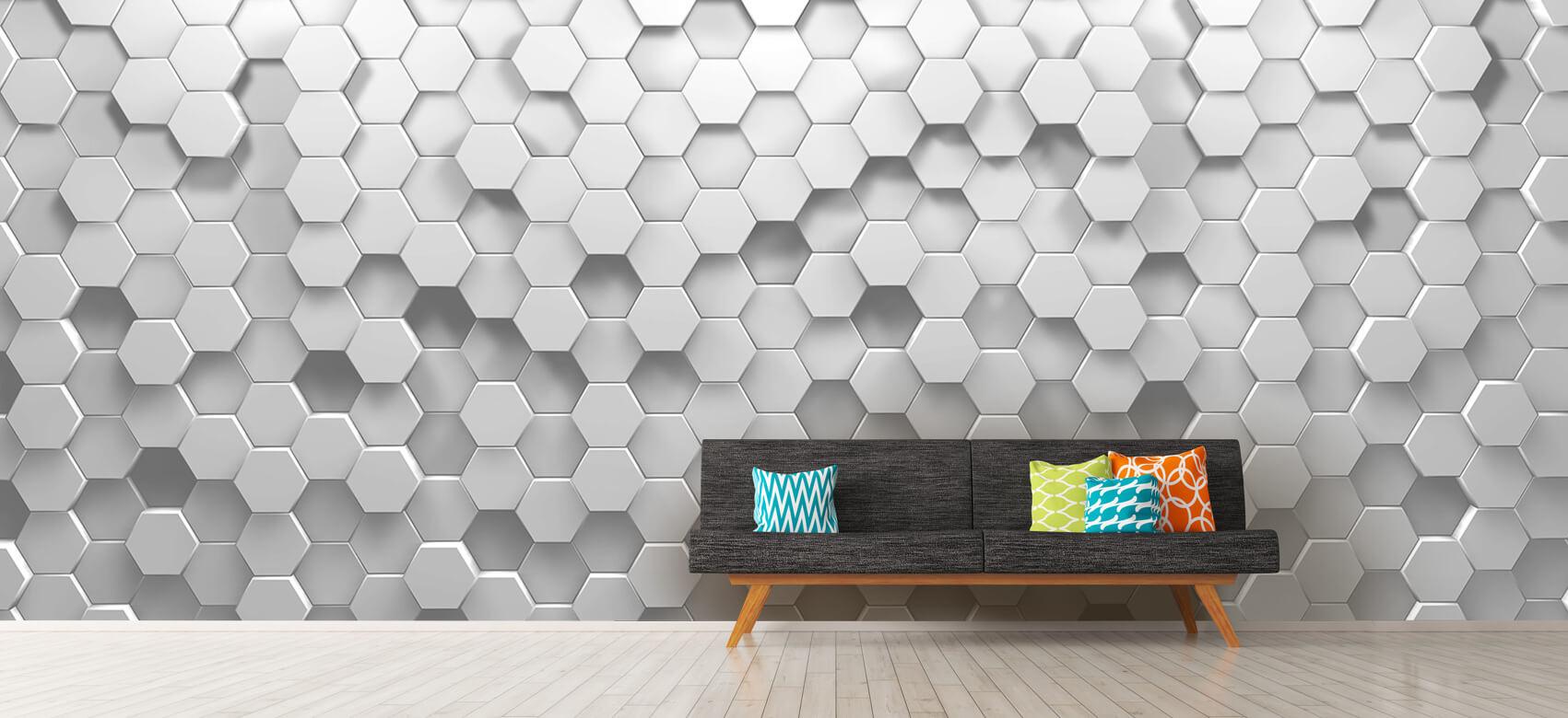 3D 3D Hexagons 8