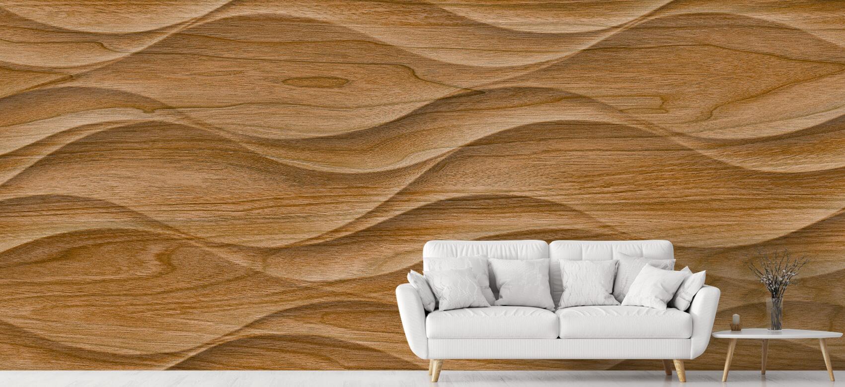 3D Golvend hout 5