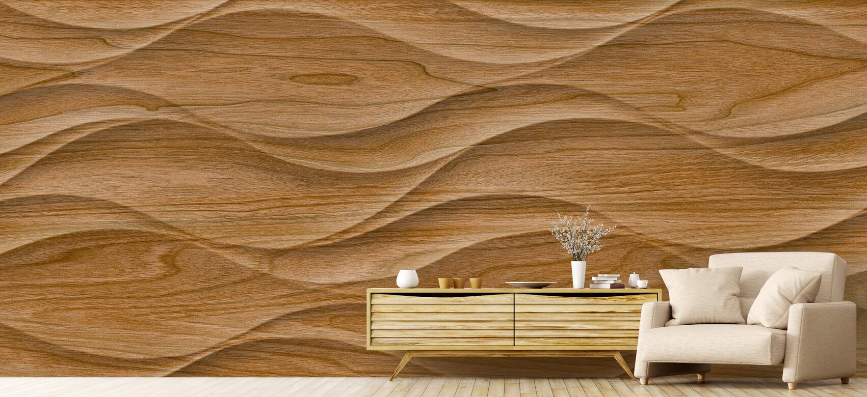 3D Golvend hout 6