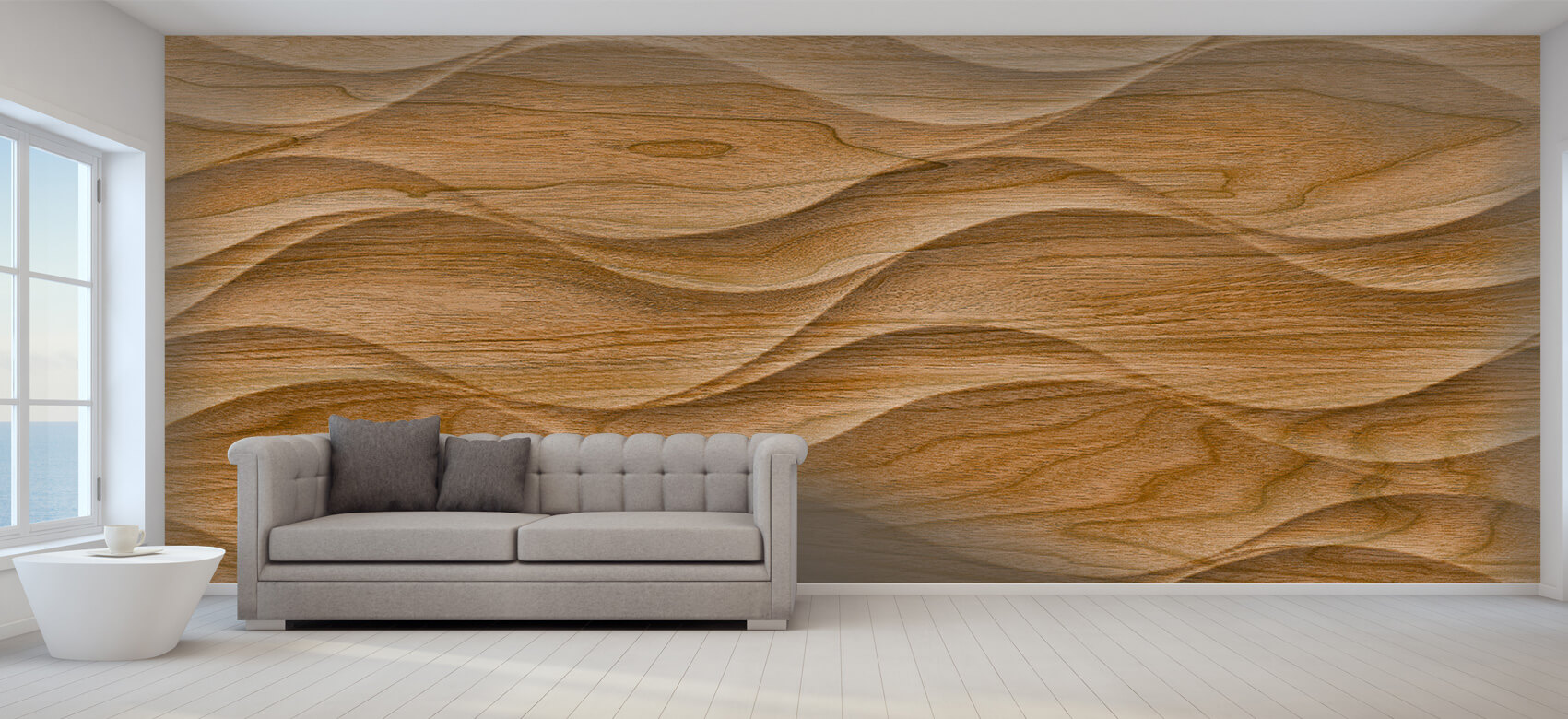 3D Golvend hout 8