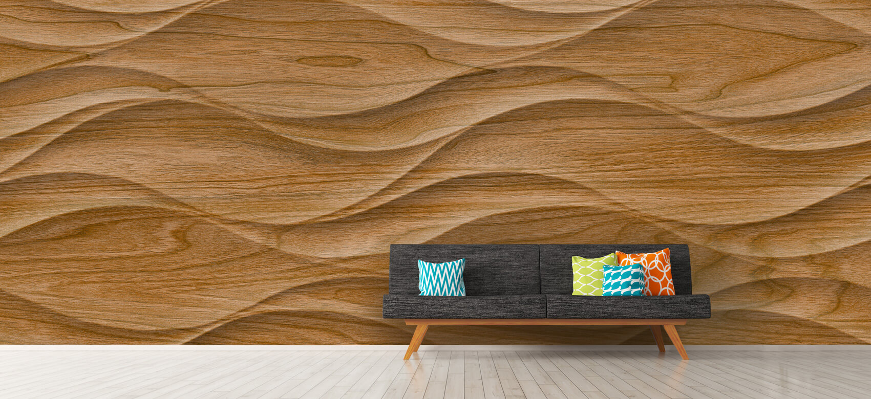 3D Golvend hout 12