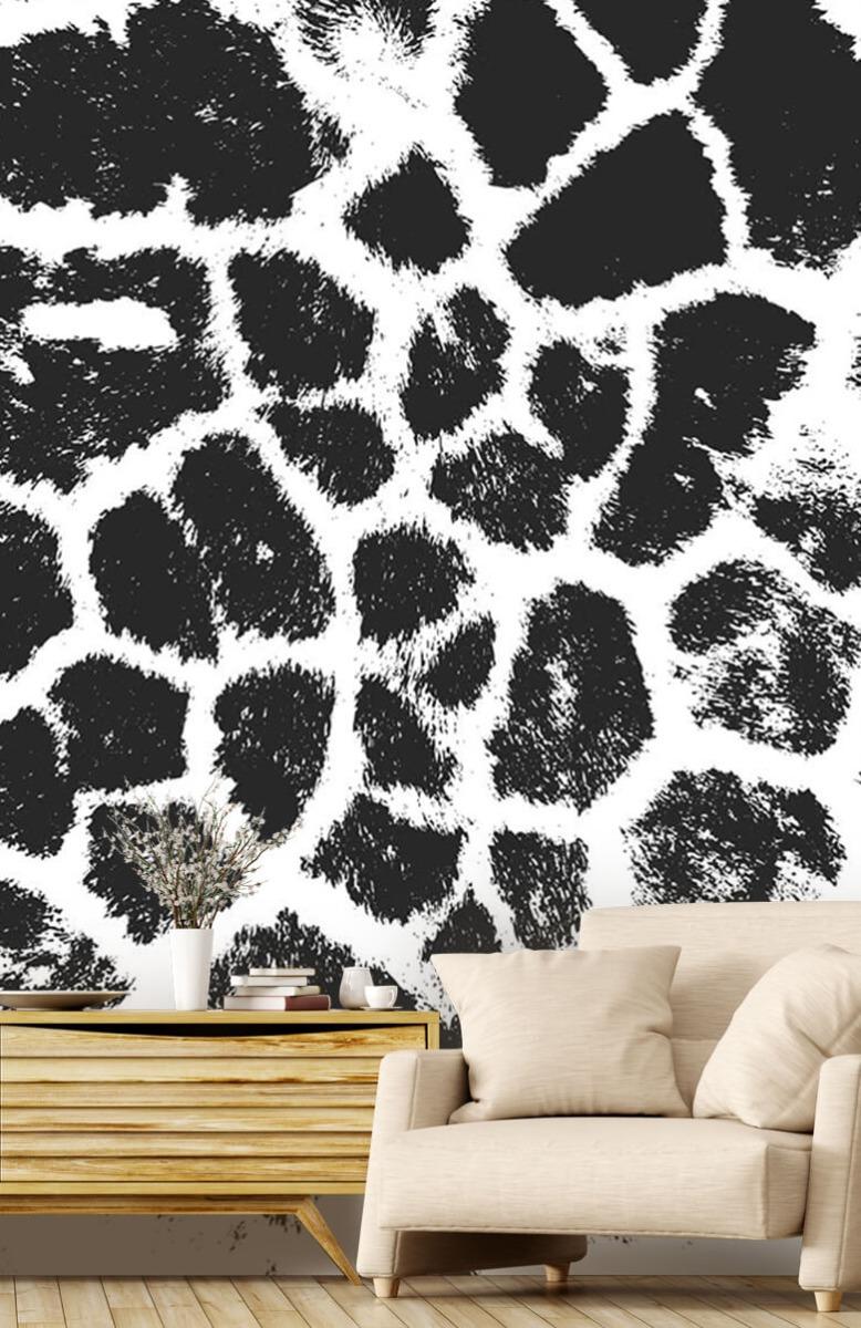 Beton, hout en steen Luipaard illustratie 1