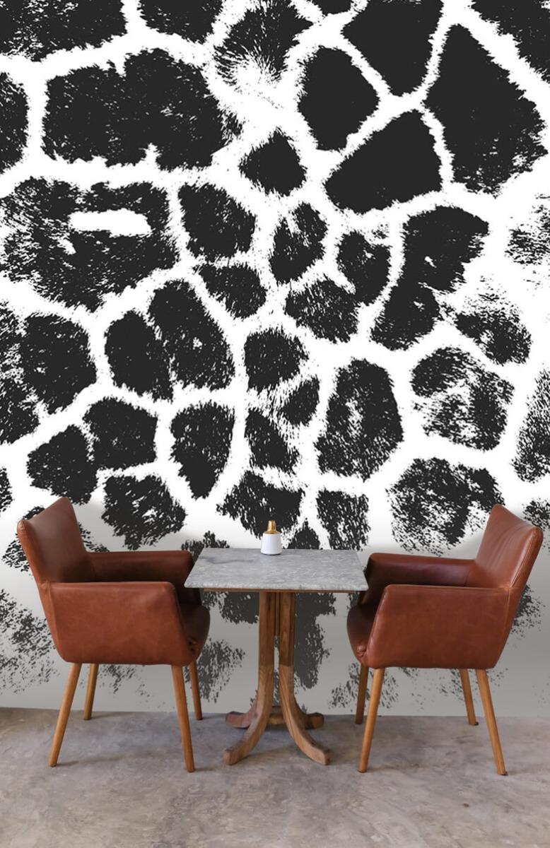 Beton, hout en steen Luipaard illustratie 3