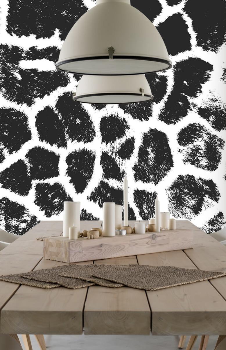 Beton, hout en steen Luipaard illustratie 4