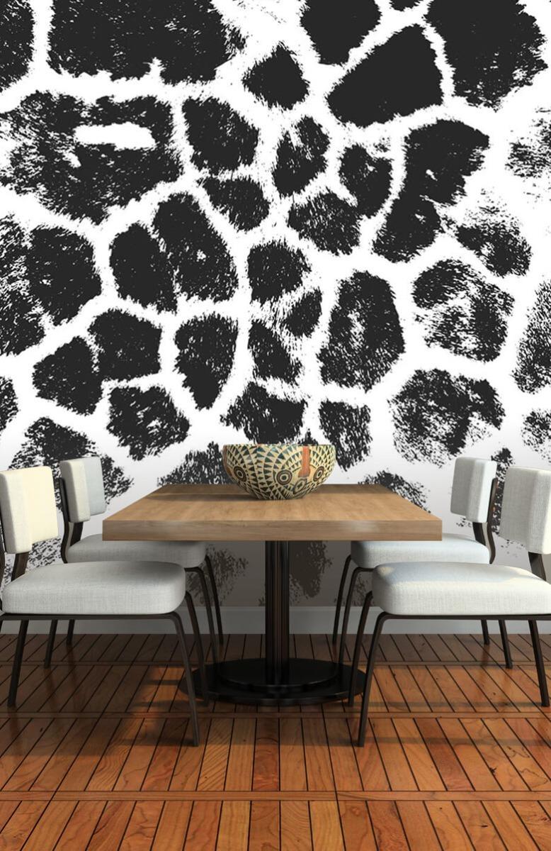 Beton, hout en steen Luipaard illustratie 5