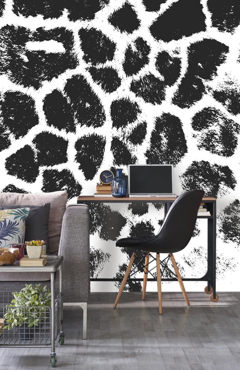Beton, hout en steen Luipaard illustratie 8