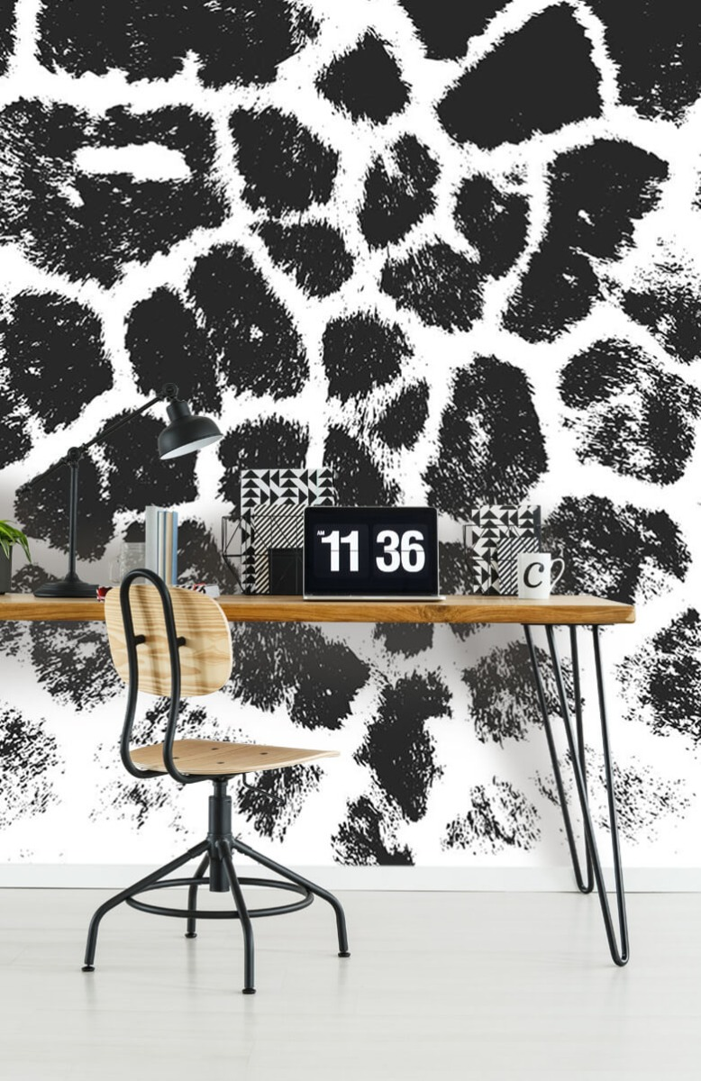 Beton, hout en steen Luipaard illustratie 9
