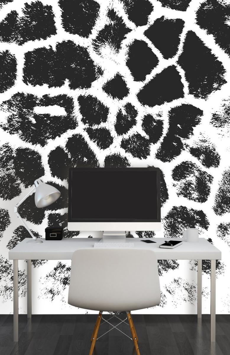Beton, hout en steen Luipaard illustratie 10