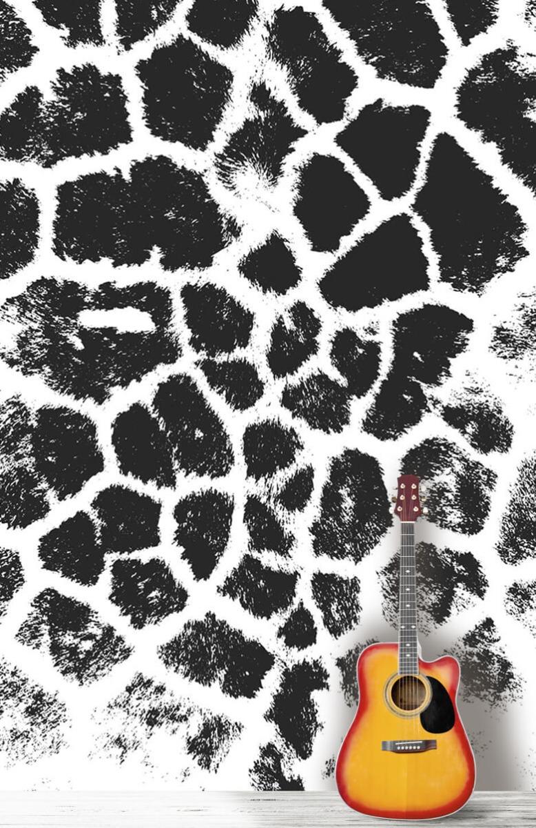 Beton, hout en steen Luipaard illustratie 11