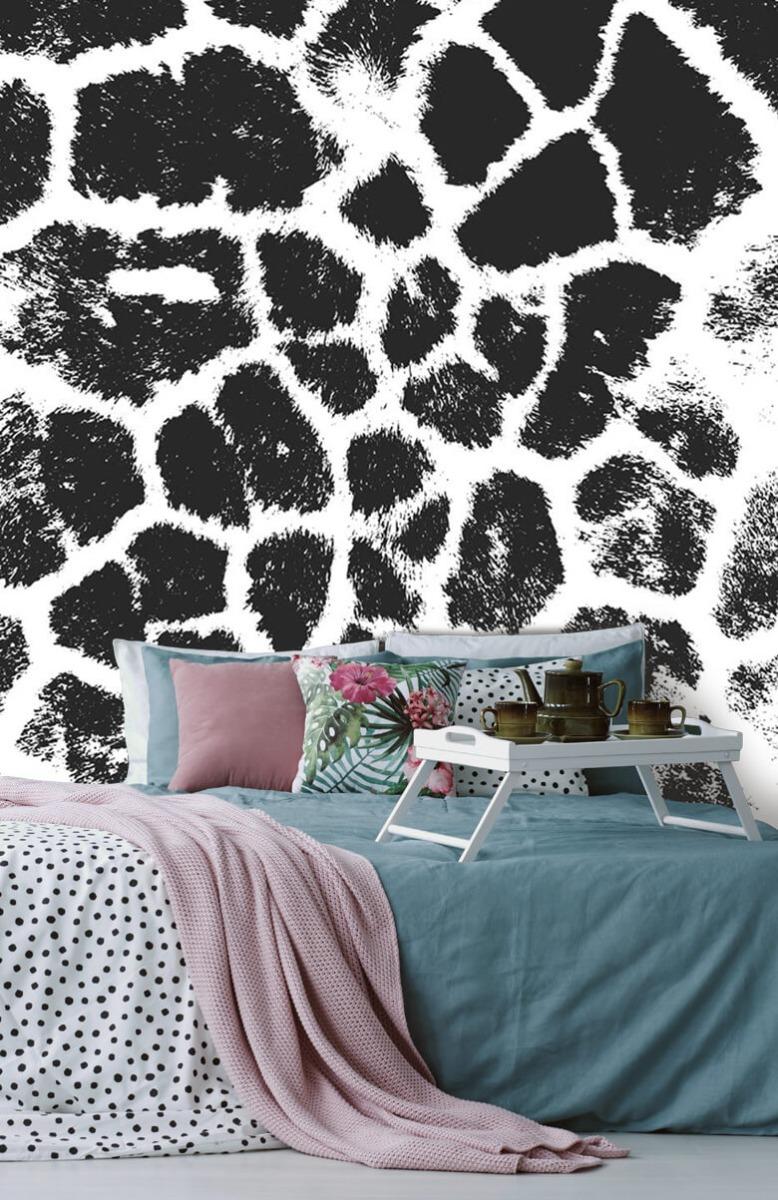 Beton, hout en steen Luipaard illustratie 12
