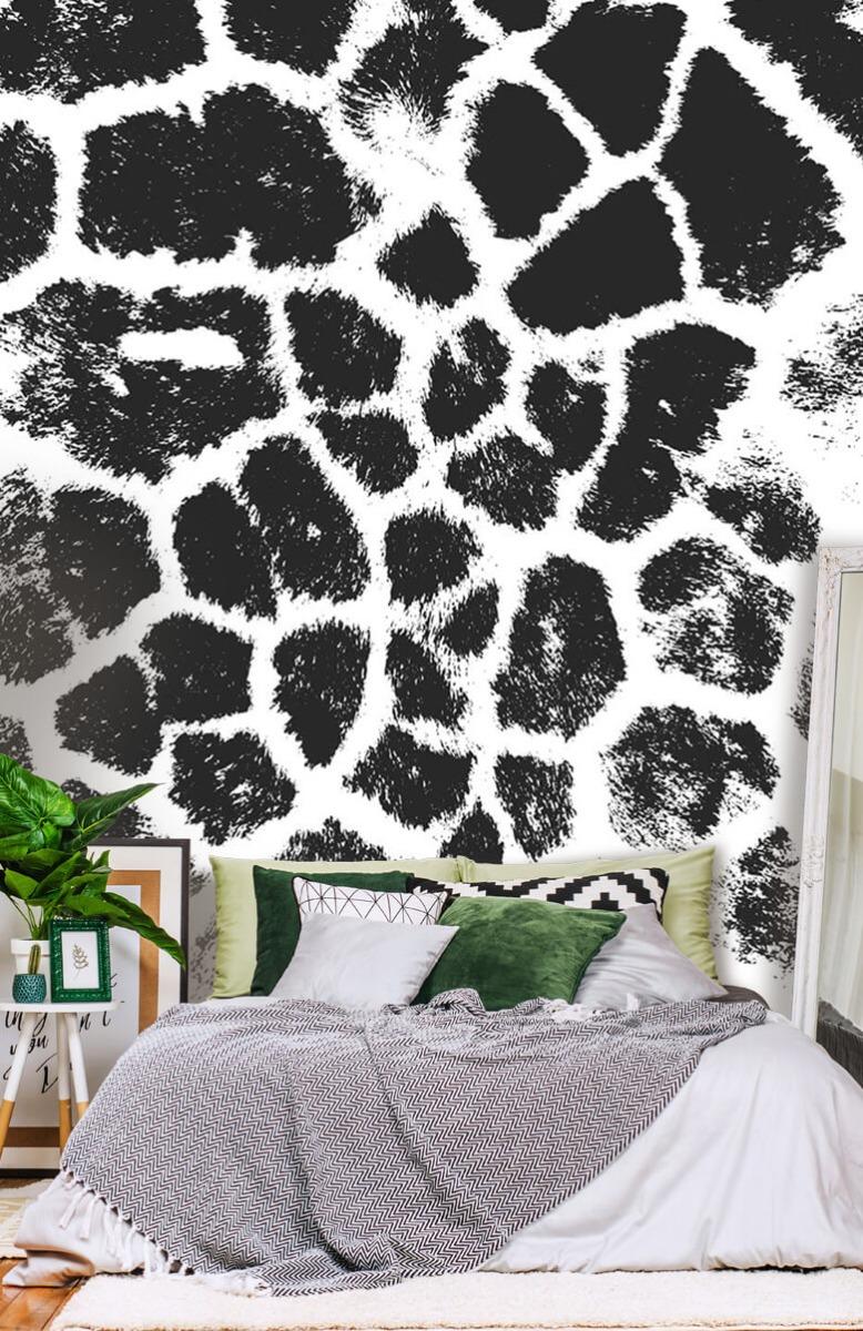 Beton, hout en steen Luipaard illustratie 13