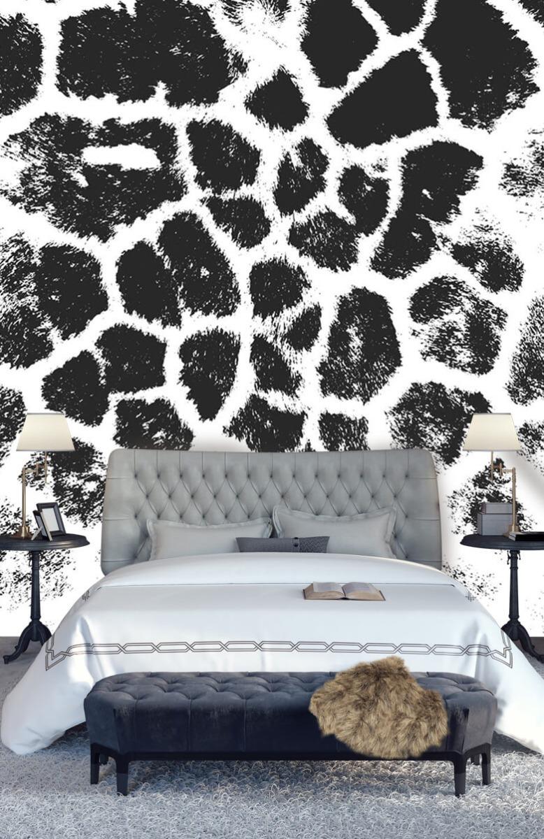 Beton, hout en steen Luipaard illustratie 15
