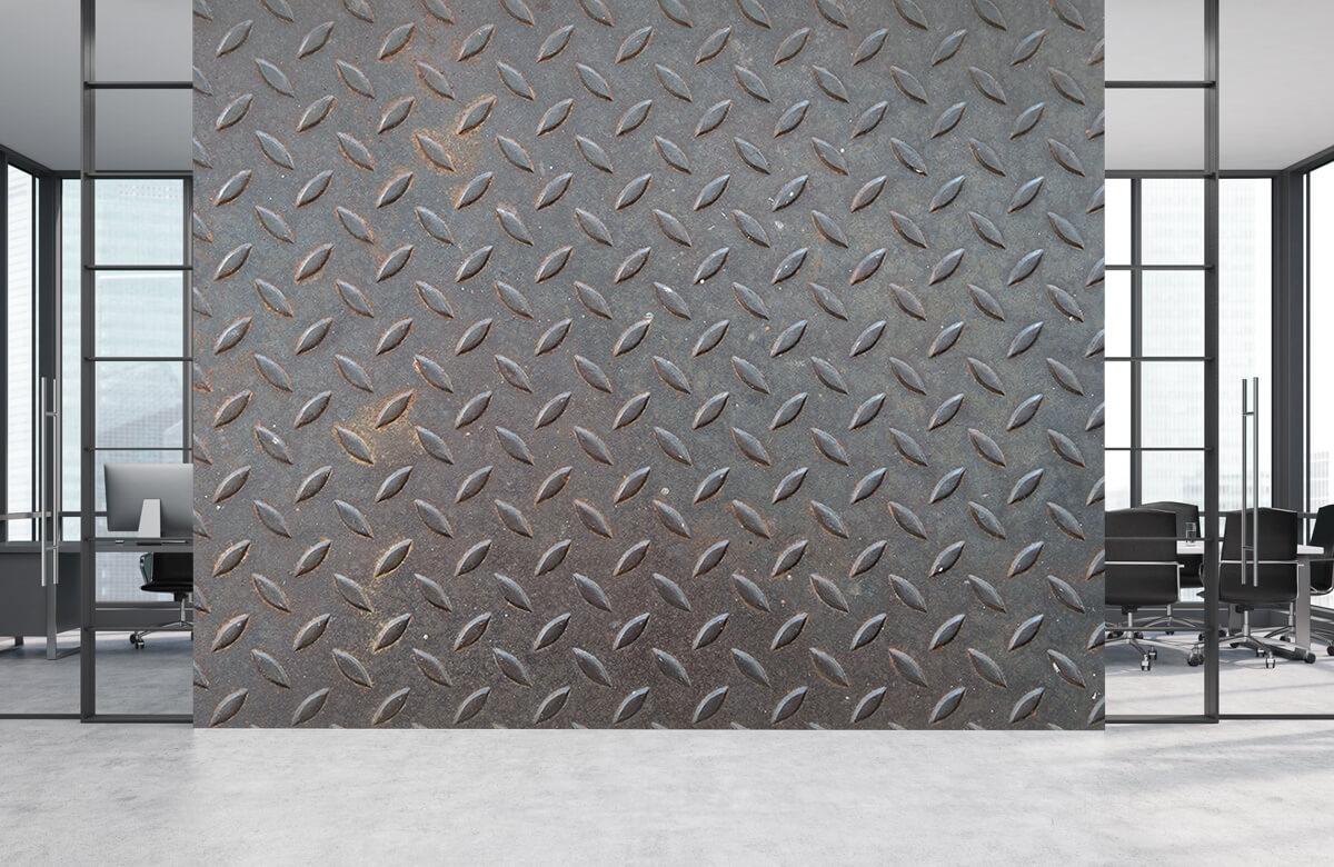Beton, hout en steen Close-up staal 4