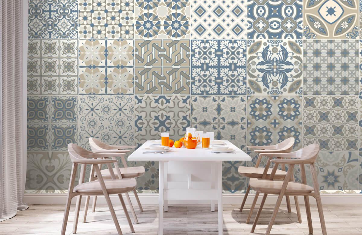 Beton, hout en steen Portugese tegels 2