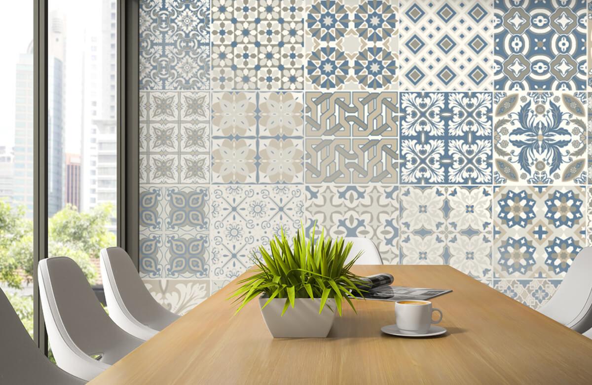 Beton, hout en steen Portugese tegels 3