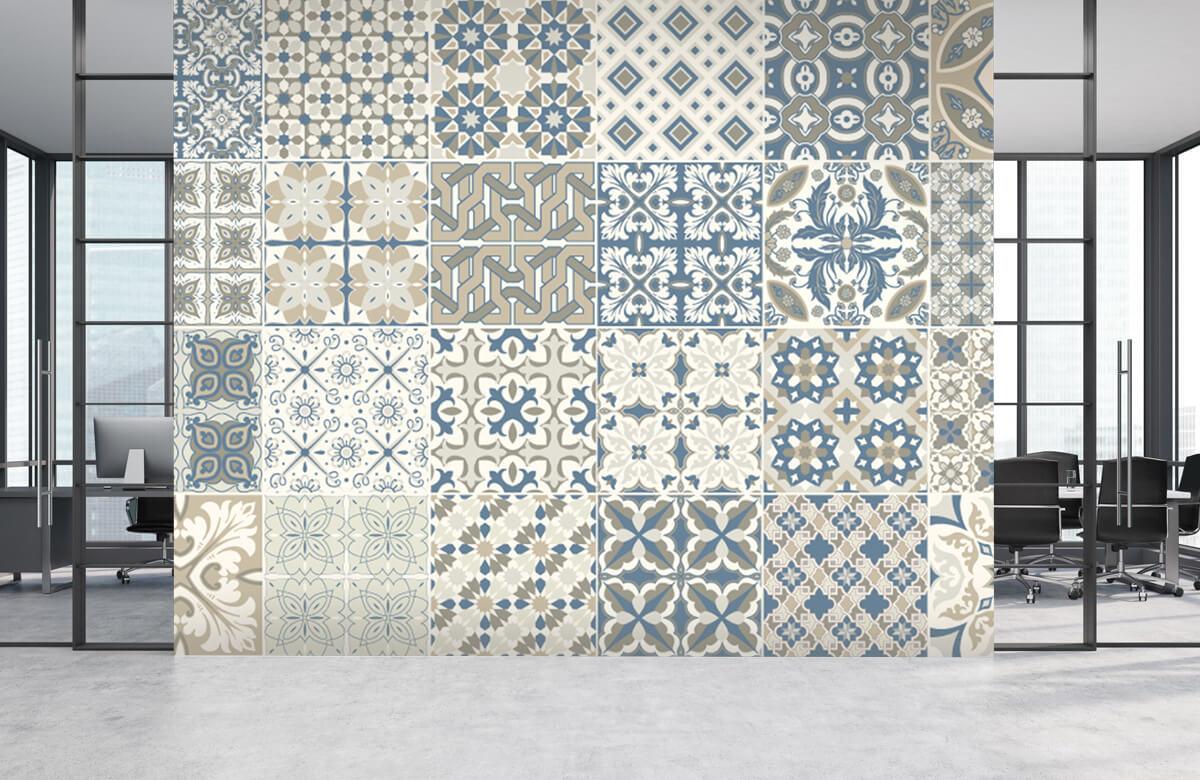 Beton, hout en steen Portugese tegels 4