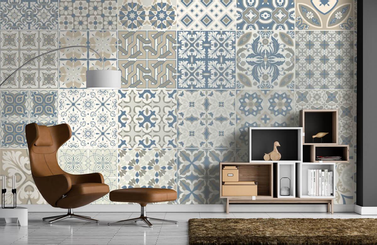 Beton, hout en steen Portugese tegels 1