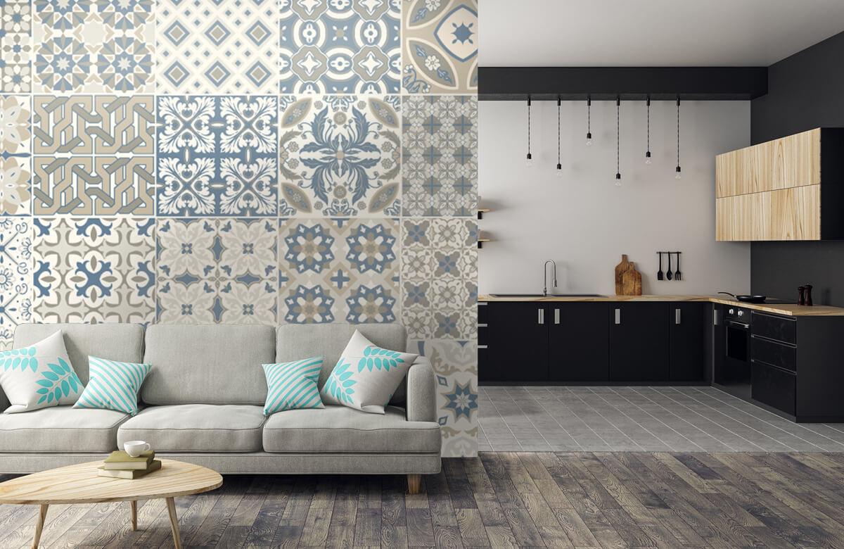 Beton, hout en steen Portugese tegels 5
