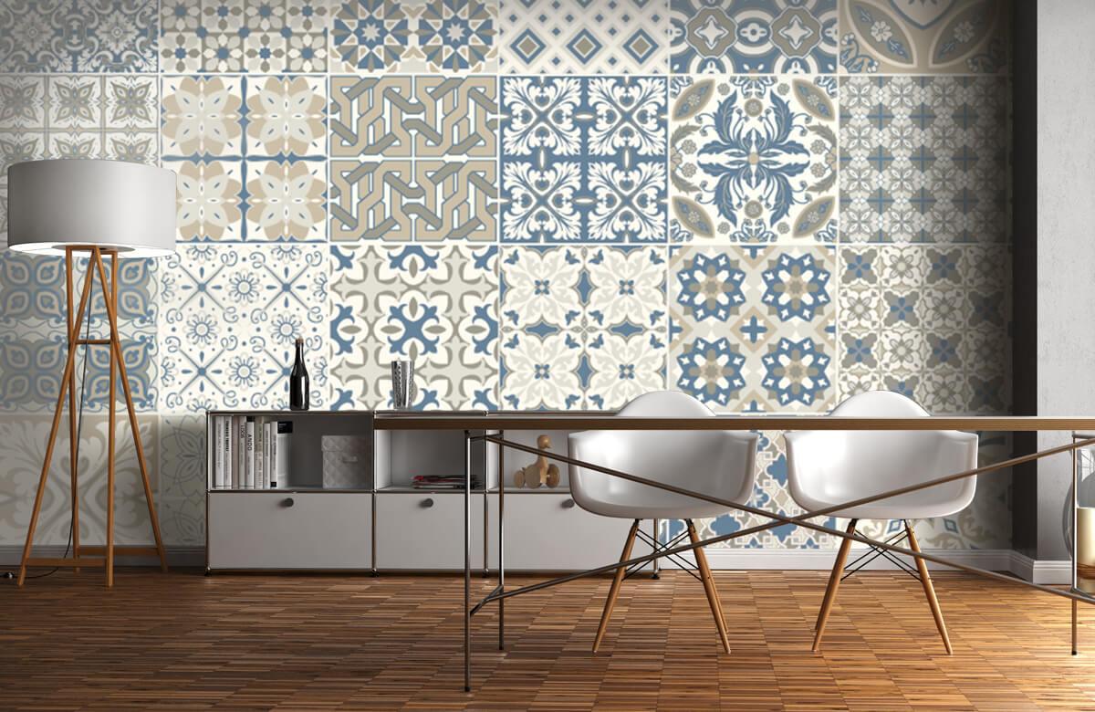 Beton, hout en steen Portugese tegels 11