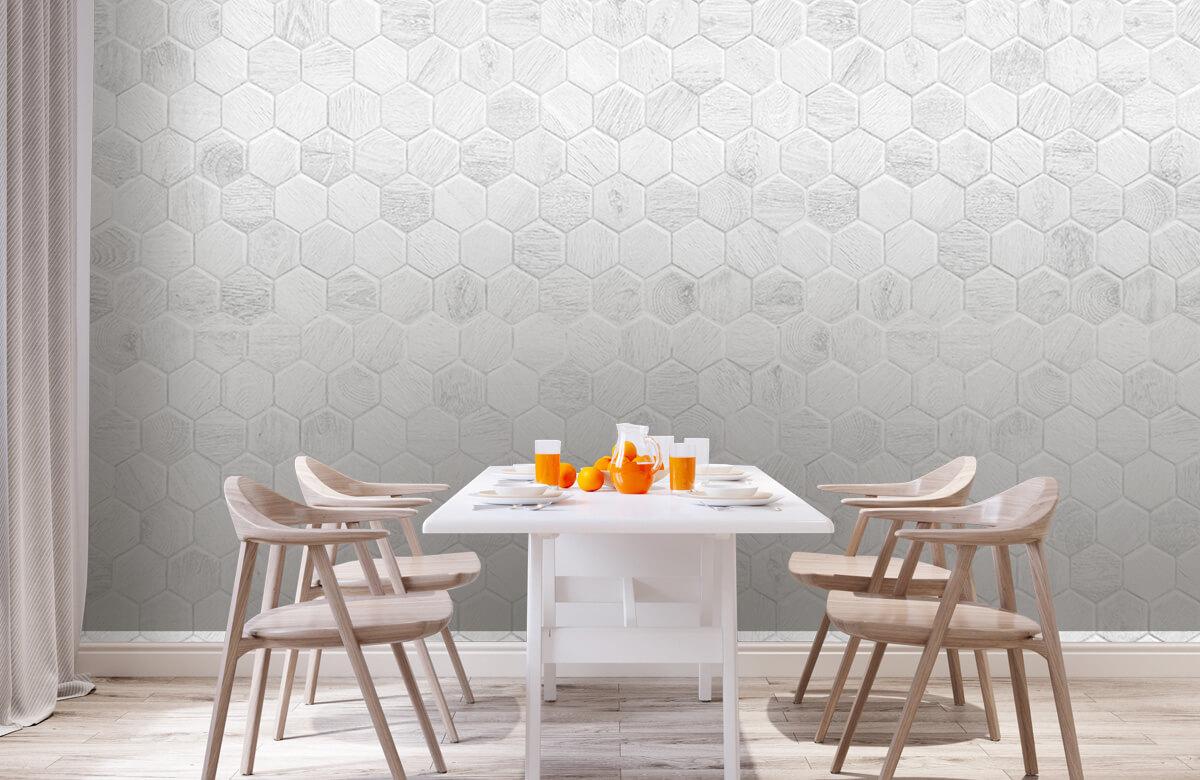 Beton, hout en steen Lichte marmeren tegeltjes 2