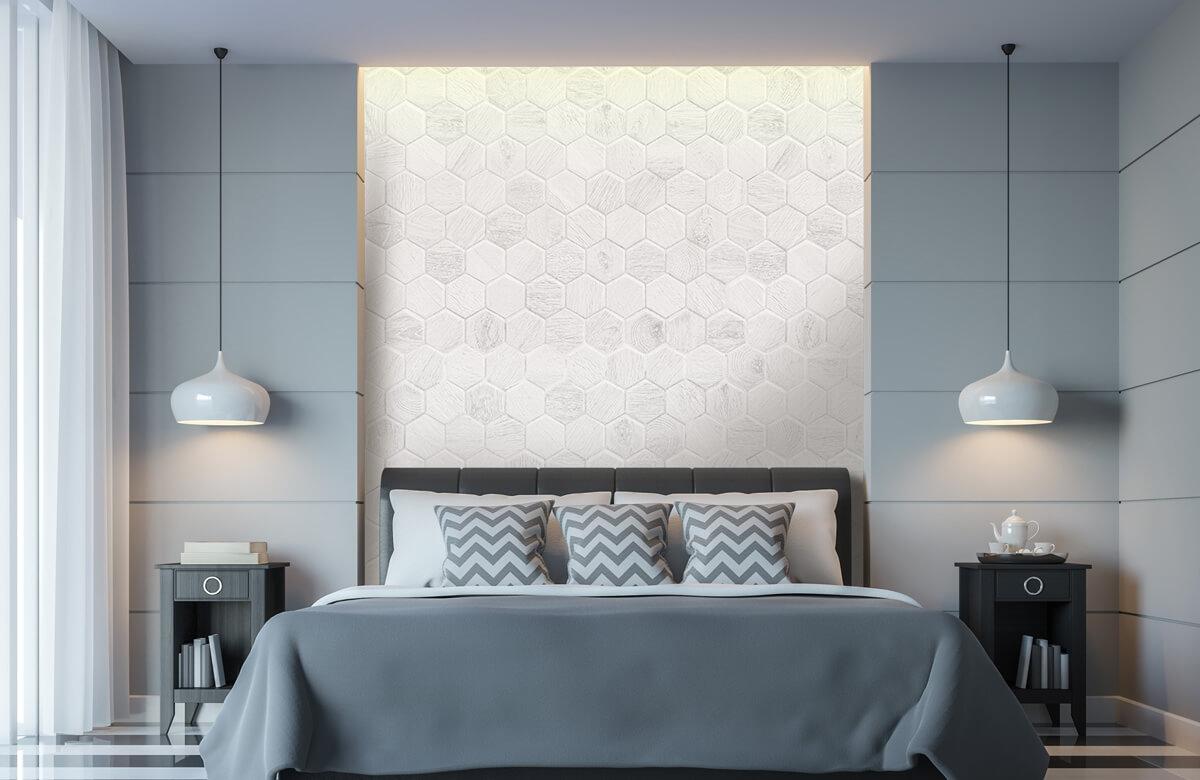 Beton, hout en steen Lichte marmeren tegeltjes 1