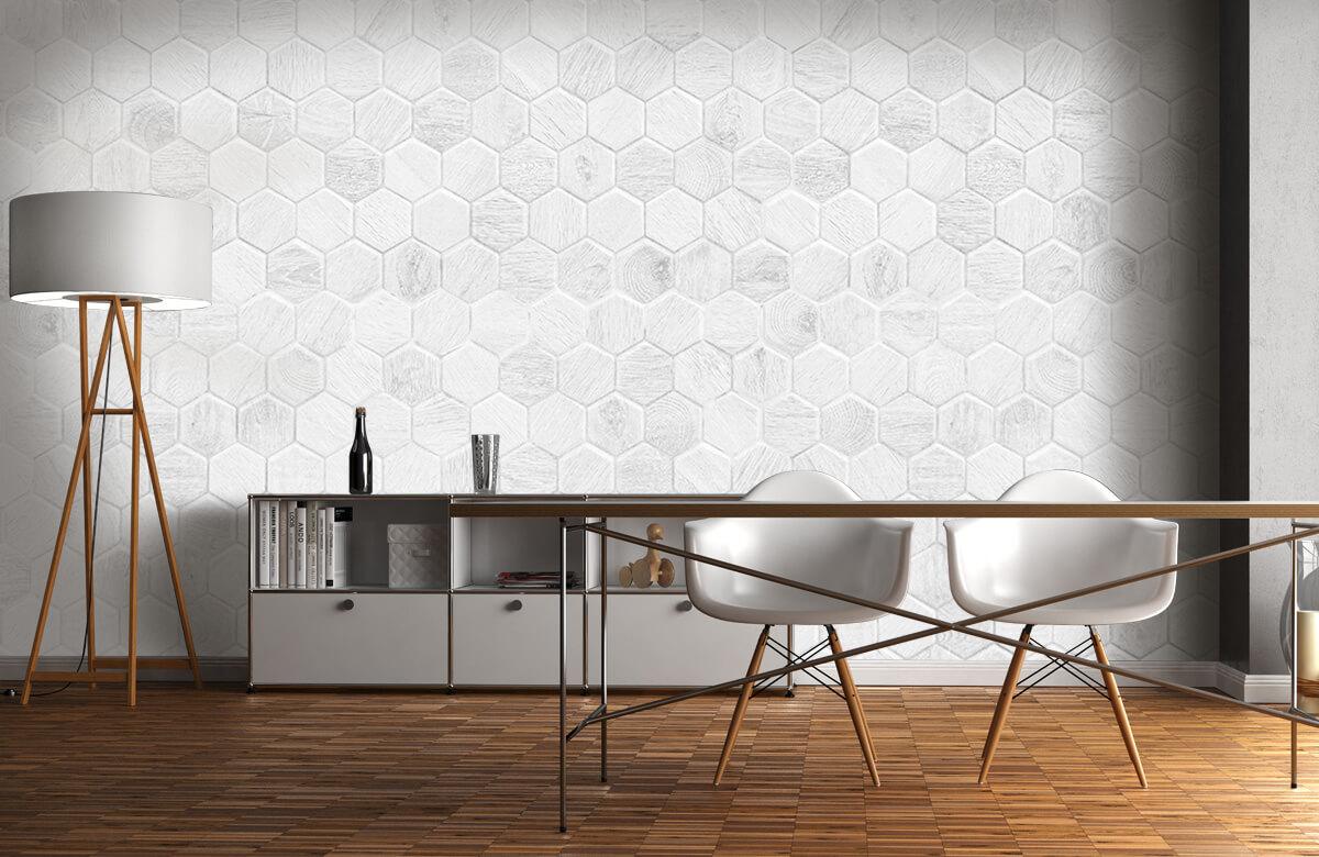 Beton, hout en steen Lichte marmeren tegeltjes 11
