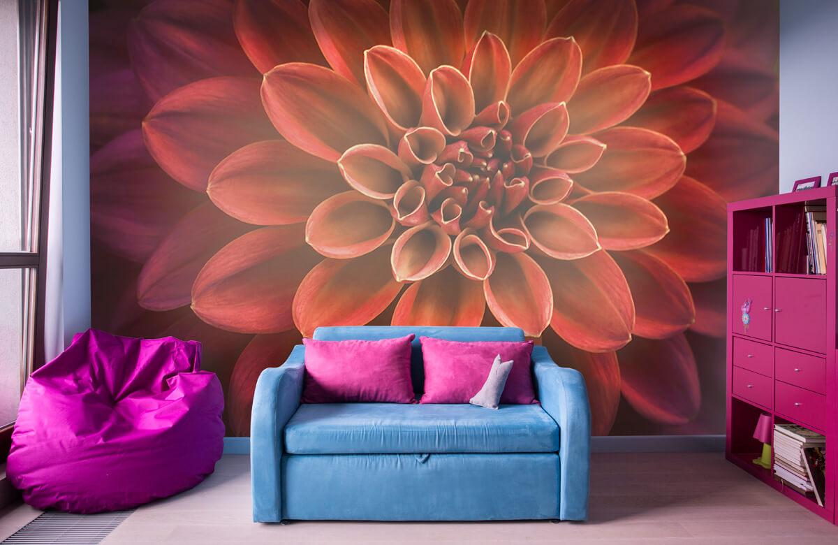 Bloemen, planten en bomen Gekleurde dahlia 10
