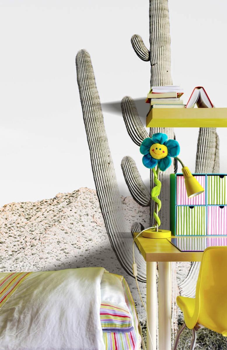 Bloemen, planten en bomen Hoge cactus 9