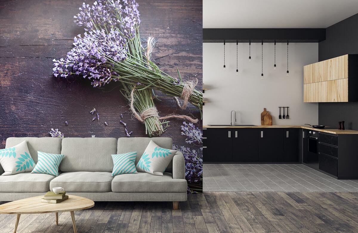 Bloemen, planten en bomen Bosjes lavendel 6