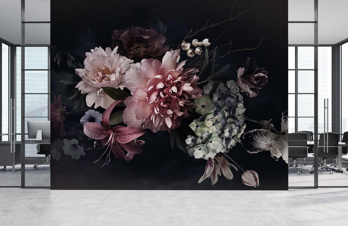 Bloemen, planten en bomen Vintage bloemenboeket 3