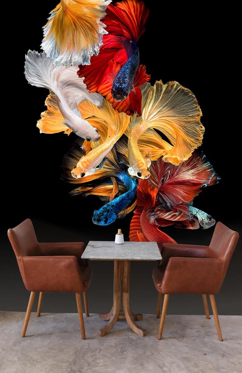 Dieren Vissen compositie 4