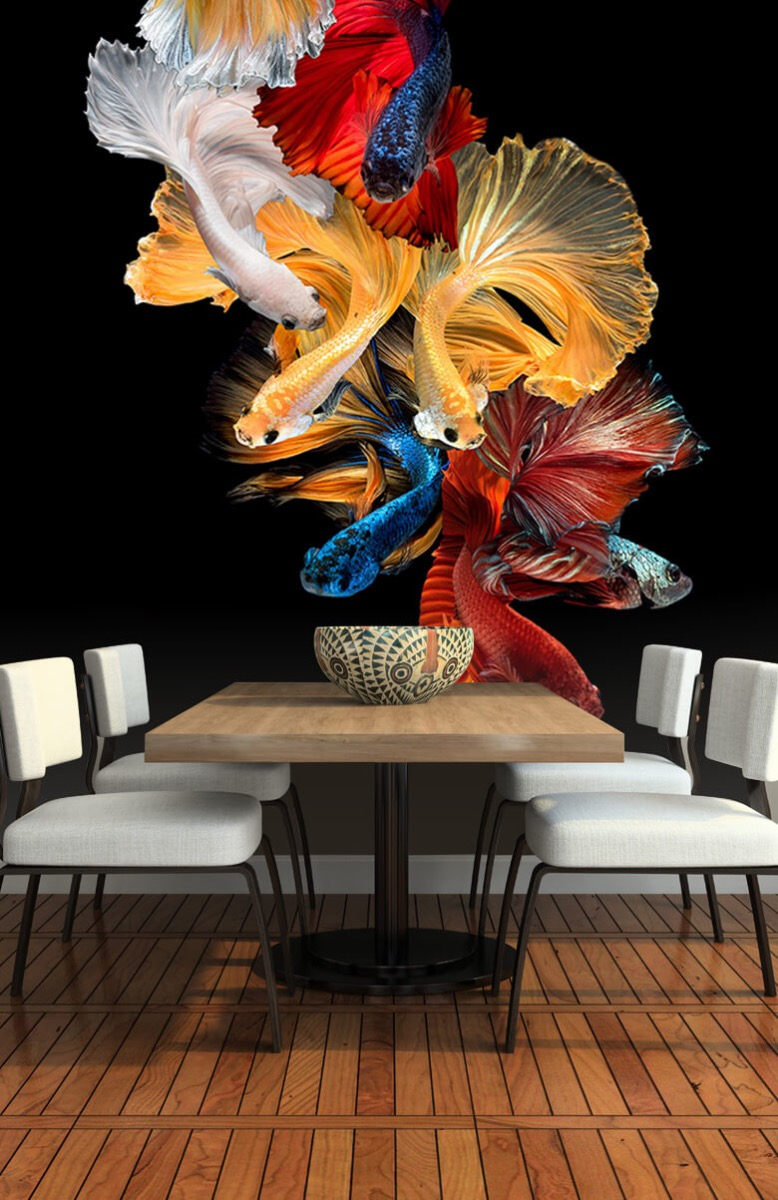 Dieren Vissen compositie 6