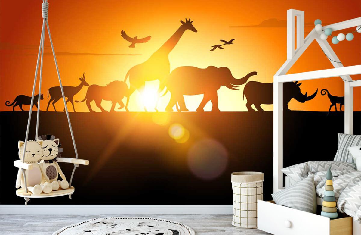Jungle Savanne dieren 3