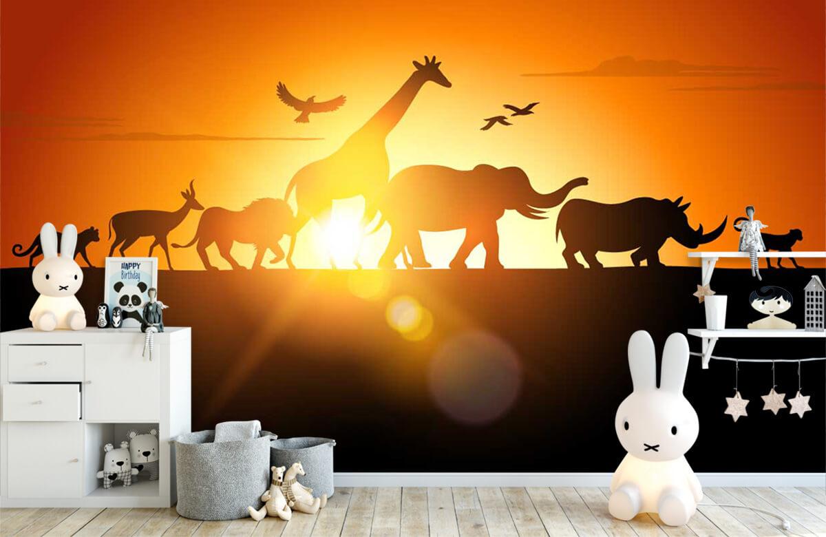 Jungle Savanne dieren 4