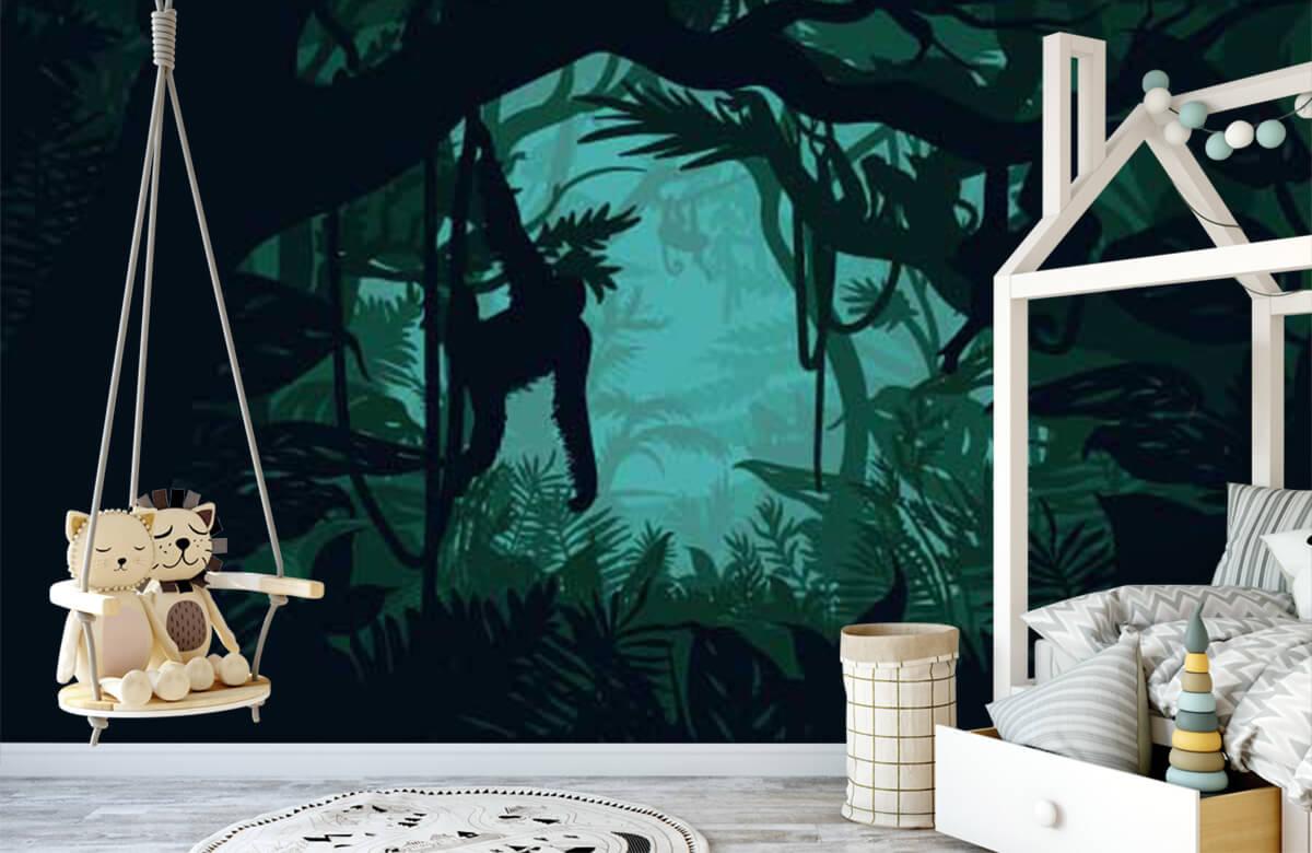 Jungle Aap in de jungle 4